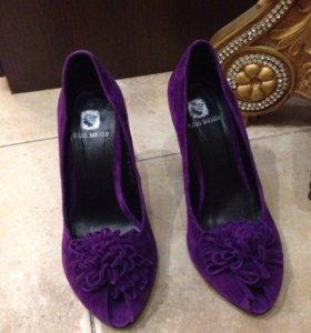 Туфли замши