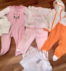 Набор одежды для девочки 6-12 мес
