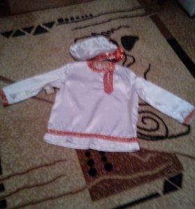 Русский народный костюм на мальчика