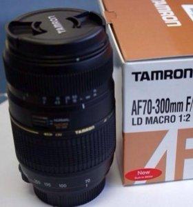 Объектив Tamron af 70-300mm f/4-5.6 Di LD MACRO