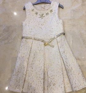 Платье нарядное рост 122