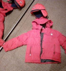 Куртка зима 128