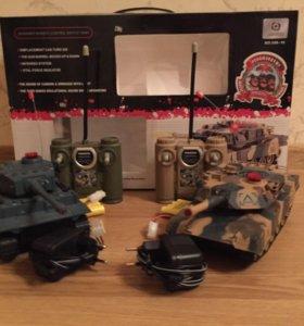 Танки на Радиоуправление(танковый бой )