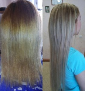 Окрашивание волос,наращивание волос
