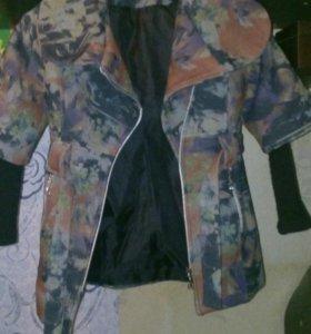 Пальто на девочку от 5 до 7 лет