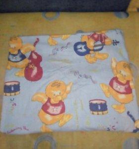 Одеяло детское+белье