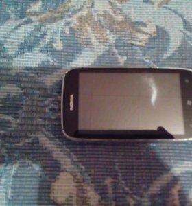 Мобильный телефон нокия люмиия 610 с документами