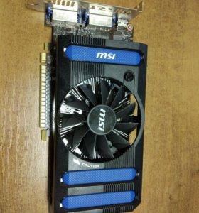 Игровая видеокарта GTX 650Ti