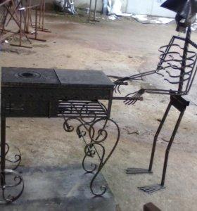 Мангал скелет