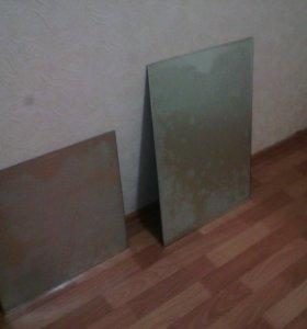 Два зеркала.