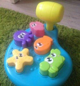 Развивающие игрушки Стучалка,сортер,лабиринт и м,д