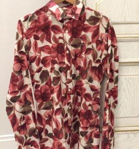 Рубашка мужская Hugo Boss, оригинал, S