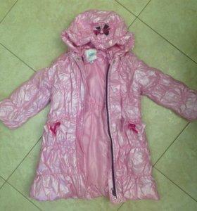 Пальто зимнее девочке рост 104