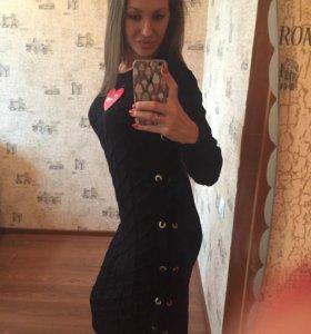 Платье вязка новое