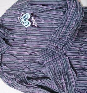 Рубашка жен. и другие вещи в моем профиле дешево