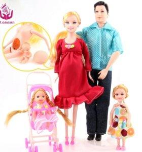 Куклы набор 5шт