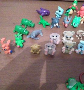 Игрушки с киндора животные