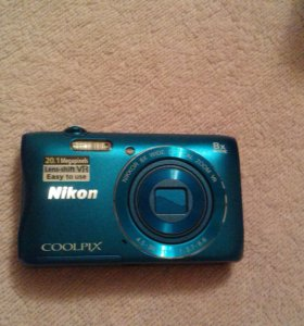 Nikon Coolpix s3700 Blue