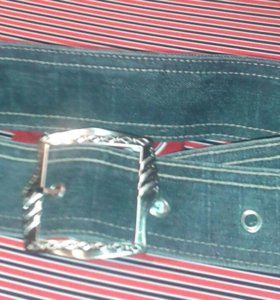 Пояс джинсовый