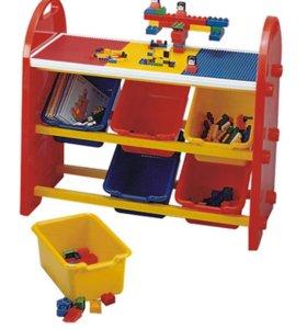 Стеллаж, Лего стол