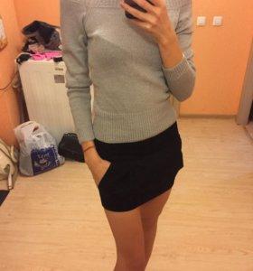 Замшевая юбка