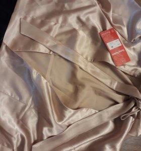 Эффектное удобное платье 46р новое