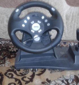Игровой детский руль