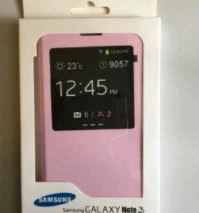 Новый Чехол для Samsung Note 3 - Розовый