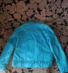 Кожая куртка