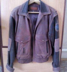 Куртка из кожи буйвала Pretender