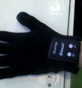Блютуз перчатки-телефон QUMO