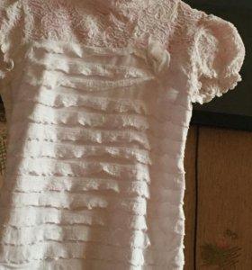 Блузка для школьницы .
