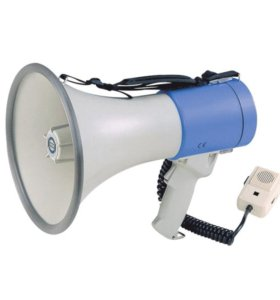 Мегафон - громкоговоритель (рупор)