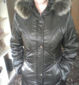 Куртка жен. зимняя, новая, р-р.XL.