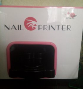 Принтер для печати на ногтях цветах сувенирах