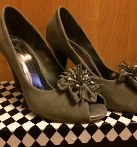 Туфли под замшу, р-р 35