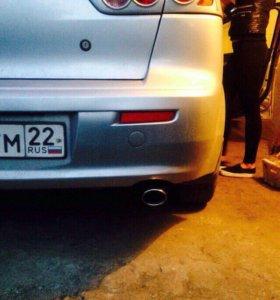 Накладки на задние фонари для Mitsubishi Lancer X