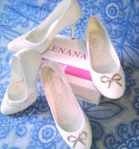 Продам туфли и балетки лакерованные!