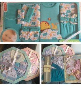 Подарочные наборы. Одежда для новорожденных