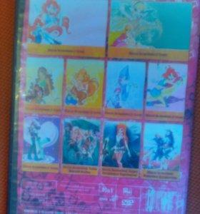 DVD - диск Club Winx - школа волшебниц 10 в 1