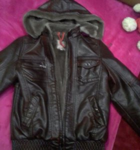 Зимняя куртка на подростка от 10-12 лет