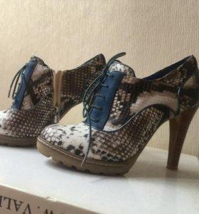 Ботинки туфли ботильоны