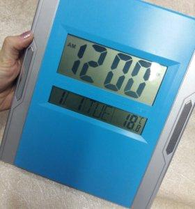 Часы (дата,🌡,будильник)
