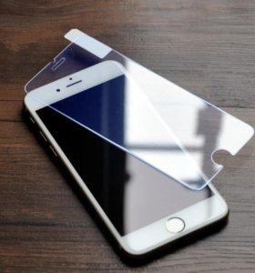 Стекло на IPhone  4 4s /5,5s/6,6s/6plus/7