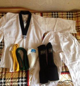 Кимано, щитки, пояса, паховая раковина