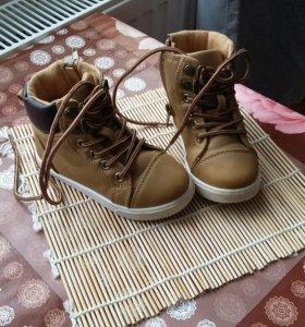 Детская обувь на весну размер 22-23