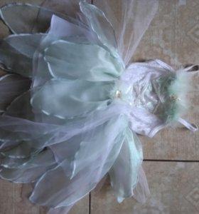 Платье на праздник для маленькой феи 1,5-3,5г