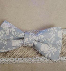 Винтажная галстук-бабочка