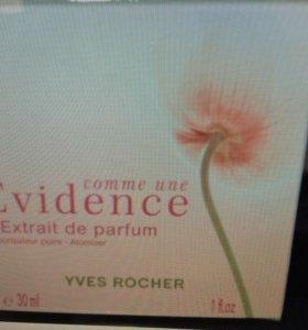 Comme une Evidence l'Extrait de parfum Yves Rocher