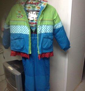 Костюм зимний мембранный для девочки 7-8 лет